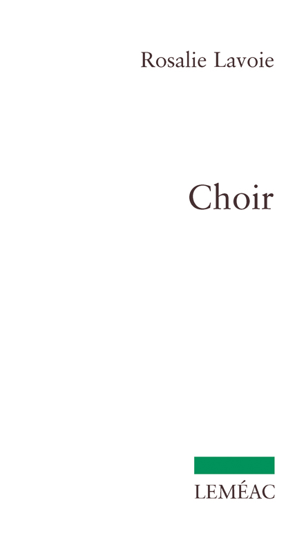 Parution : Choir