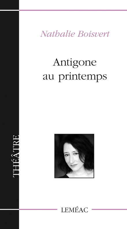 Parution : Antigone au printemps